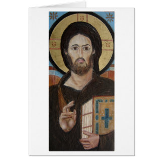 Christ Pantocrator Stationery Note Card