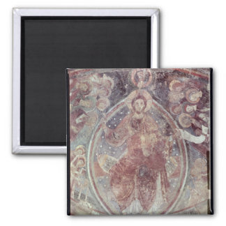 Christ Pantocrator, from the apse 2 Inch Square Magnet
