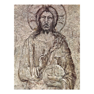 "Christ Pantocrator With Angels Fragment Details 8.5"" X 11"" Flyer"