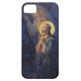 Christ praying with angel iPhone 5 covers