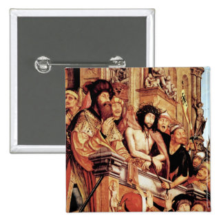 Christ Presented to the People, c.1515 Pinback Button
