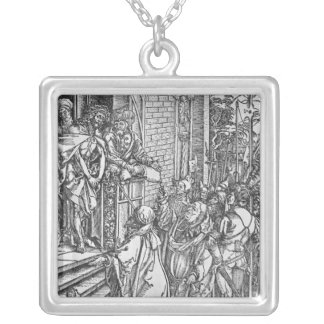 Christ presented to the people custom jewelry