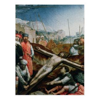 Christ Raised on the Cross, 1496-1504 Postcard