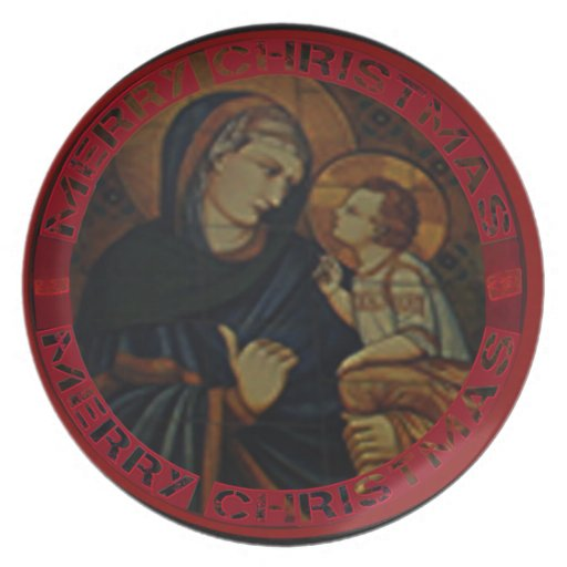 Christ-Reason for the Season Party Plates