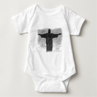 Christ Redeemer 1 Baby Bodysuit