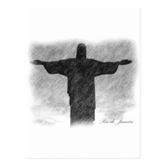 Christ Redeemer 1 Postcard