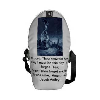 Christ Remember Me School Backpack