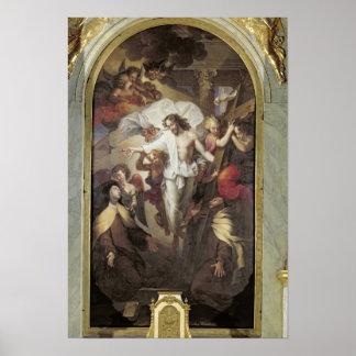 Christ Resurrected Poster