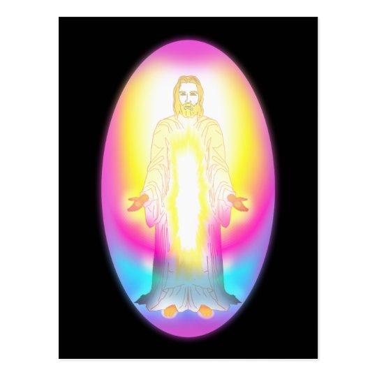 Christ Returns Postcard