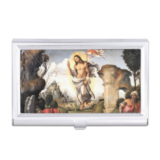 Christ Risen from the Grave Business Card Holder