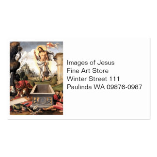 Christ Risen from the Grave Double-Sided Standard Business Cards (Pack Of 100)