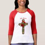 Christ Rose, Womens Christian Shirts Tshirts