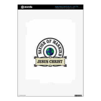 christ savior of all mankind decal for iPad 3