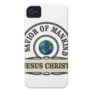 christ savior of all mankind iPhone 4 cover