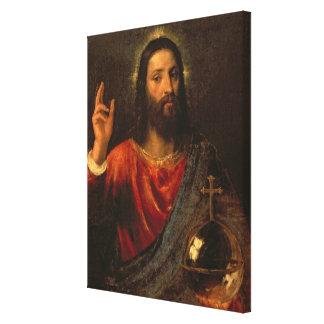 Christ Saviour, c.1570 Canvas Print