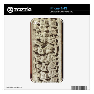 Christ seated and teaching surrounded by the Apost Decals For The iPhone 4S