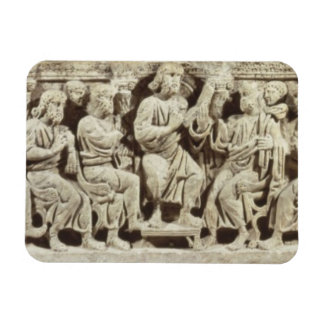 Christ seated and teaching surrounded by the Apost Rectangular Photo Magnet