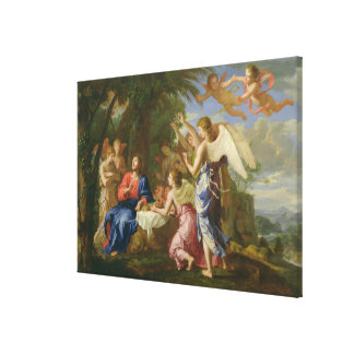 Christ Served by the Angels, c.1650 (oil on canvas