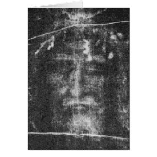 Christ - Shroud Of Turin Card
