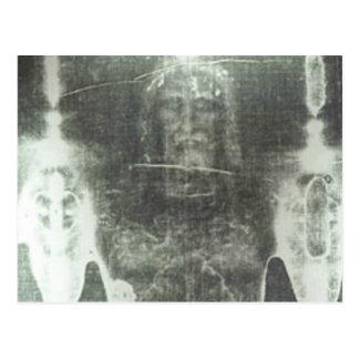 Christ - Shroud Of Turin Postcard