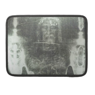 Christ - Shroud Of Turin Sleeves For MacBook Pro
