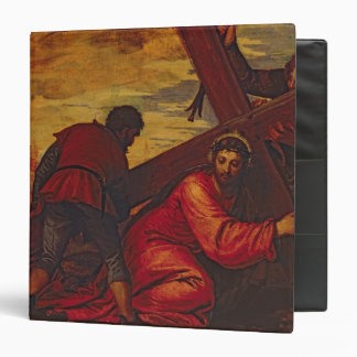 Christ Sinking under the Weight of the Cross Binder