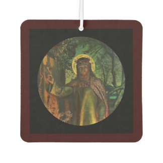 Christ Stands at Door and Knocks Air Freshener