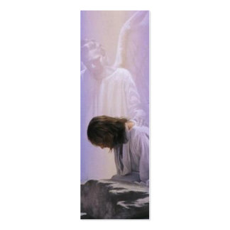 Christ Suffers In Gethsemane Bible Book Mark Double-Sided Mini Business Cards (Pack Of 20)