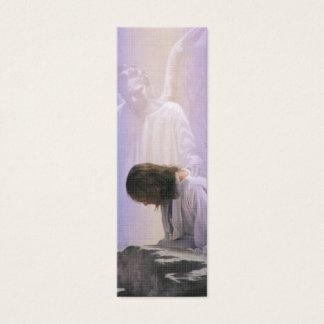 Christ Suffers In Gethsemane Bible Book Mark Mini Business Card