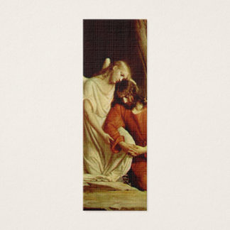 Christ suffers In Gethsemane -Bible Marker Mini Business Card