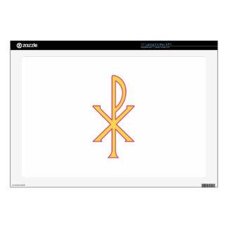 Christ Symbol Laptop Skins