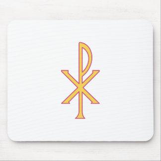 Christ Symbol Mouse Pad