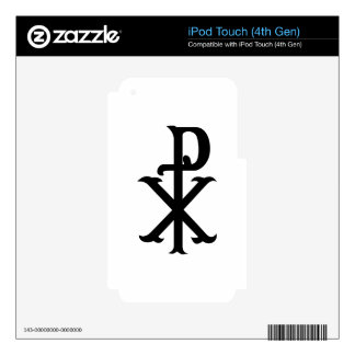 Christ Symbol PX iPod Touch 4G Skin