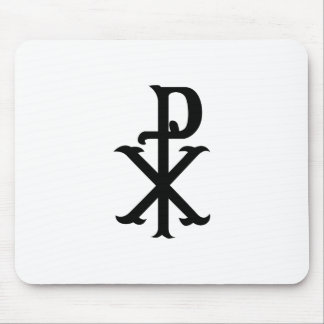 Christ Symbol PX Mouse Pad