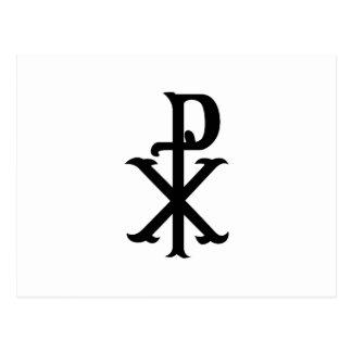 Christ Symbol PX Postcard
