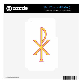 Christ Symbol Skin For iPod Touch 4G