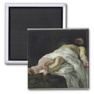 Christ taken down from the Cross, 1874 2 Inch Square Magnet