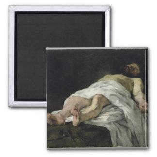 Christ taken down from the Cross, 1874 Magnet