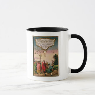 Christ teaching his disciples mug