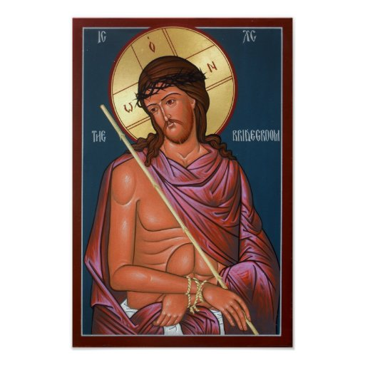 Christ the Bridegroom Poster