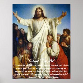 Christ the Consolator Custom Poster
