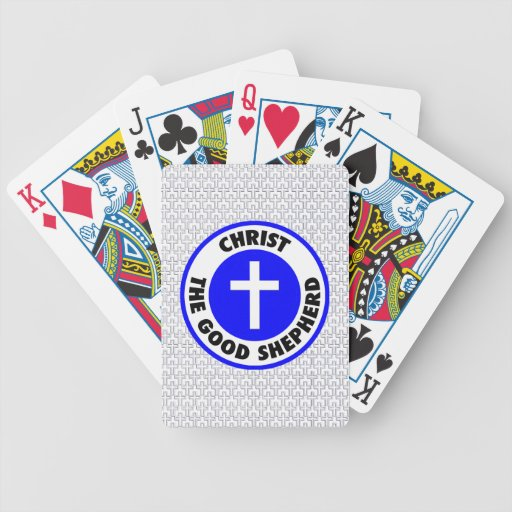 Christ the Good Shepherd Bicycle Playing Cards