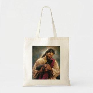 Christ The Good Shepherd Canvas Bags