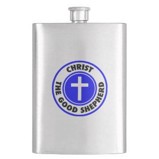 Christ the Good Shepherd Flask