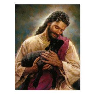 Christ The Good Shepherd Postcard