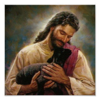 Christ The Good Shepherd Posters