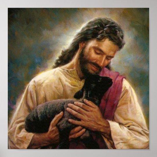 Christ The Good Shepherd Poster