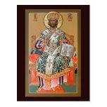 Christ the High Priest Prayer Card Postcards