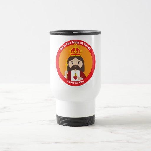 Christ the King 15 Oz Stainless Steel Travel Mug