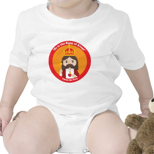 Christ the King Baby Bodysuits